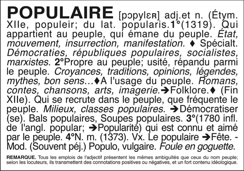 Populaire 6-150
